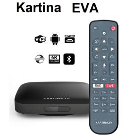 Kartina EVA 4K Lan/ Wlan Приставка (Android)