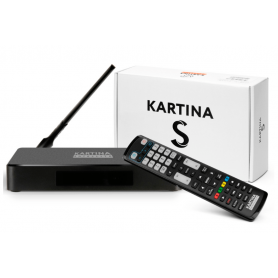 Kartina S (X+) 4K Android, Hybrid, Smart TV Box, Lan/ WLAN (Multiroom Funktion: auch als 2. oder 3. Gerät bei nur einem Abo)