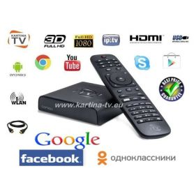 Kartina Quattro Full HD Lan/ Wlan Receiver (Android)
