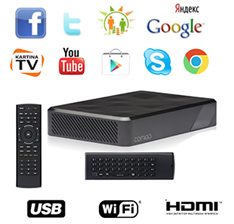 Kartina TV + Receiver