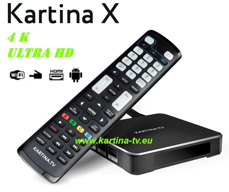 Kartina X STB NEU 4K Angebot