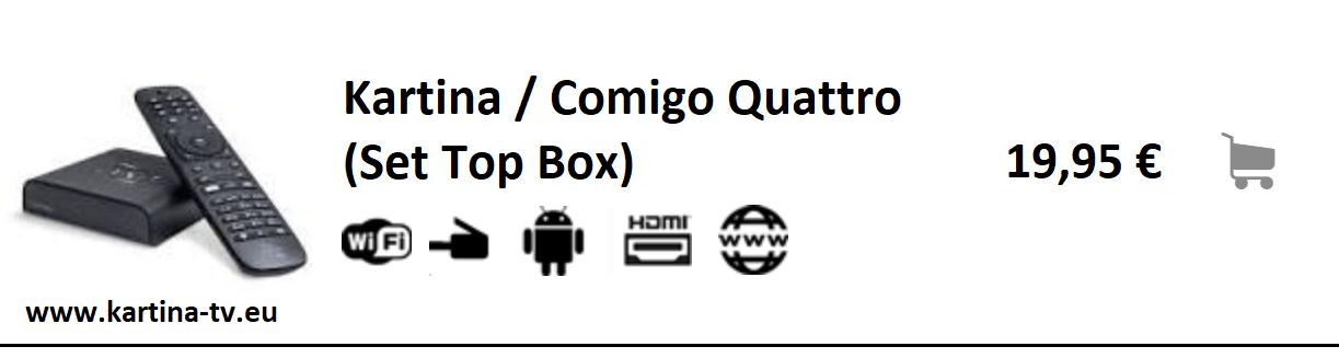 Angebot Kartina Quattro Set Top Box